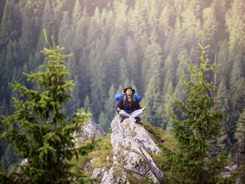 Meditatie in natura