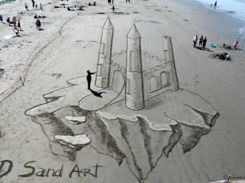 Toata lumea a ramas fara cuvinte cand a vazut asta pe plaja! Ce au facut doi barbati
