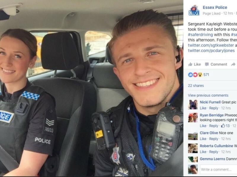 Cea mai sexy patrula de politie din Anglia nu contribuie la scaderea criminalitatii, insa la cresterea ei :)