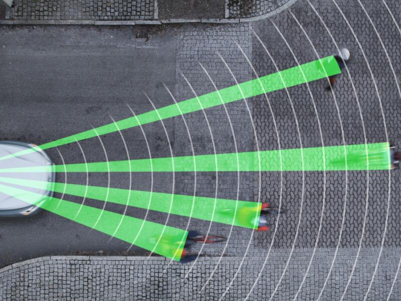 Volvo Cyclist Detection