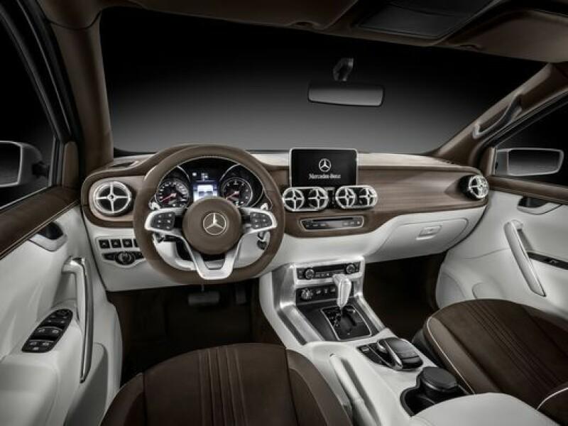 Primul PickUp din istoria Mercedes. Cum arata X-Class, conceptul prezentat de nemti
