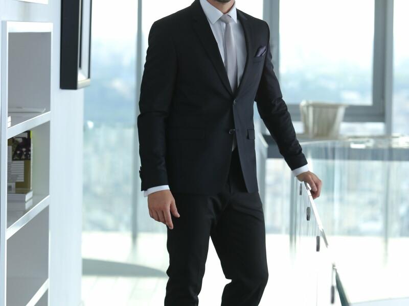 Vlad - cravata sampanie
