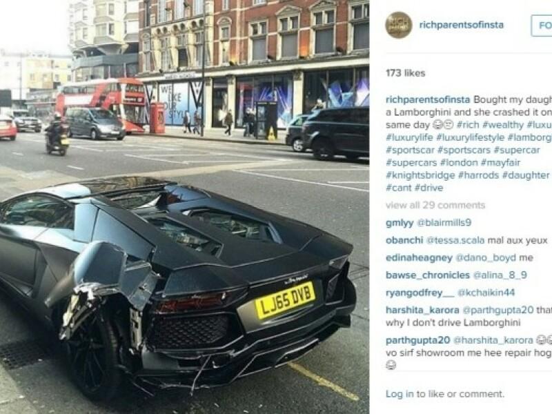 Copiii bogati de pe Instagram au de acum rivali chiar in...parintii lor. A aparut contul Rich Parens of Insta