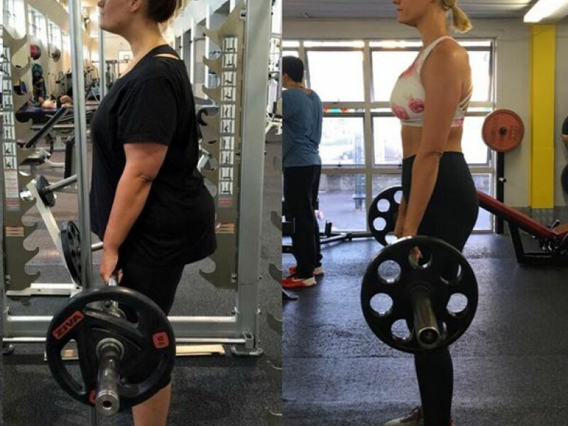 Transformarea incredibila a acestei femei!