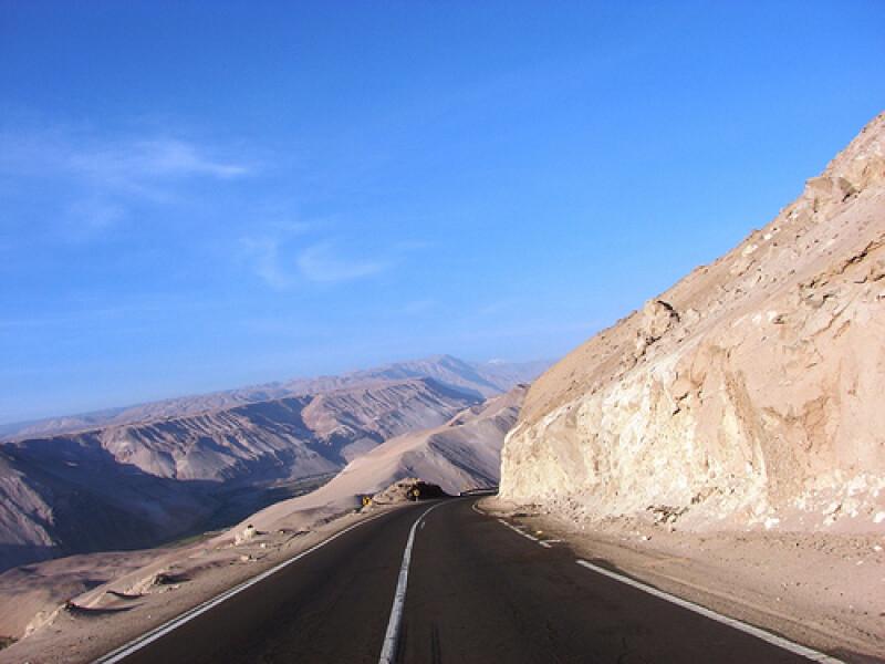 Arica to Iquique