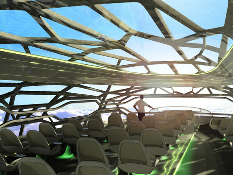 The Future by Airbus - Concept plane cabin