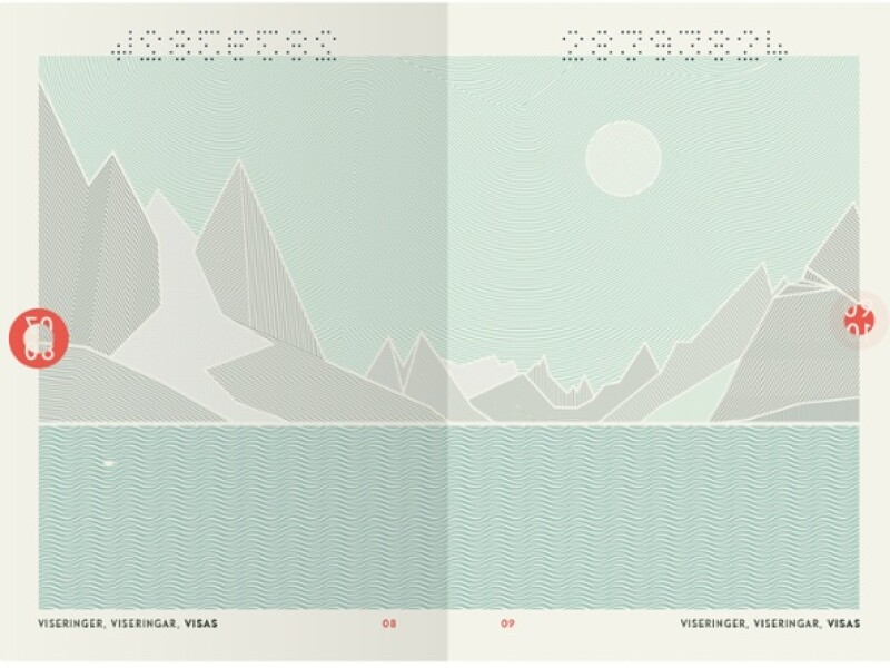 Norvegia, pasaport