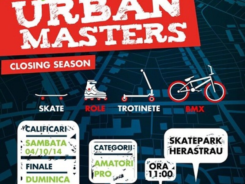 Urban Masters - SkatePark Herastrau