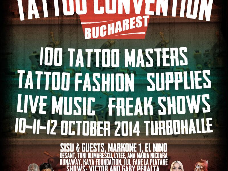 5th International Tattoo Convention Bucharest 2014
