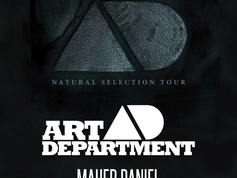 Art Department - Natural Selection Album Tour 2014 - Studio Martin