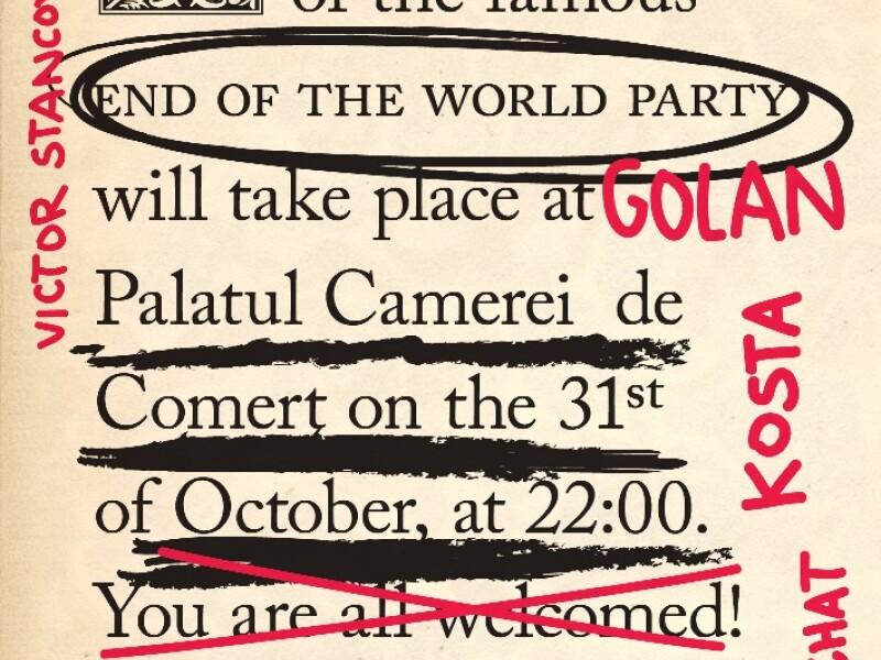 The End of the World Party VII - Detroit Swindle - Palatul Camerei de Comert