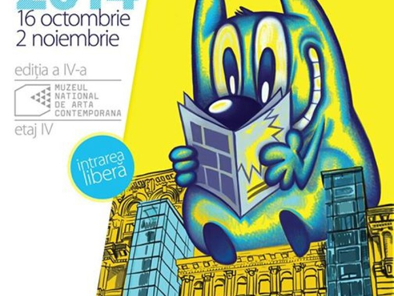 Salonul European de Banda Desenata 2014 - Muzeul National de Arta Contemporana