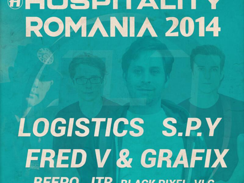 Hospitality Romania 2014 - Logistics, S.P.Y, Fred V  Grafix - Arenele Romane