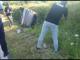 Accident grav în Dâmbovița. Un tânăr de 20 de ani, rănit după ce mașina lui s-a răsturnat