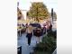 Un șofer din Bacău a mers cu SUV-ul pe trotuar, printre oameni, chiar în fața sediului de poliție
