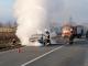 Un bărbat de 70 de ani din Vaslui era să ardă de viu în mașină. Ce s-a întâmplat