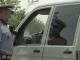 Polițist rutier, la intrarea într-o localitate carantinată