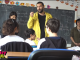 Smiley, in vizita la o scoala din Ferentari