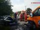 Accident grav în Brașov. Opt victime, după ceo mașină a izbit o autoutilitară
