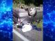 Accident grav la ieșirea din Târgoviște. O femeie s-a răsturnat cu mașina