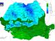 hartă temperaturi România