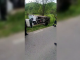 Un șofer de 23 de ani s-a răsturnat cu camionul în Dâmbovița. În ce stare e