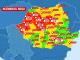 Harta zonelor roșii de Covid-19