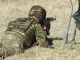 poligon, arma, soldat