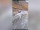 Prima ninsoare din acest sezon rece, pe Transalpina. Drumul, cuprins de un strat alb