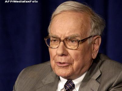 Warren Buffet e pe val: a strans 38 de miliarde de dolari