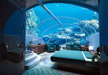 Primul hotel subacvatic la doar 700 de km distanta de Bucuresti