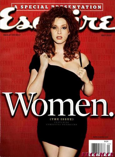 Christina Hendricks e cea mai sexy femeie din lume! Adio Megan Fox