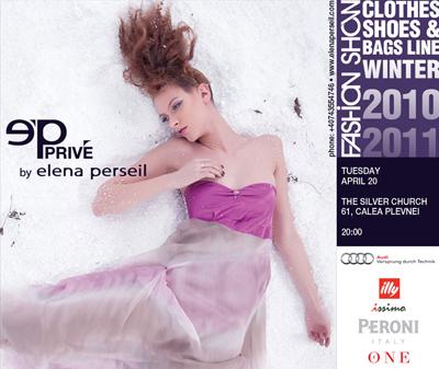 Colectia de moda a Elenei Perseil, prezentata LIVE de The ONE!