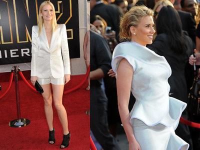 Gwyneth Paltrow si Scarlett Johansson prefera albul!