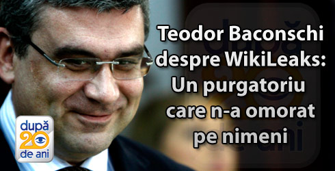 Teodor Baconschi la