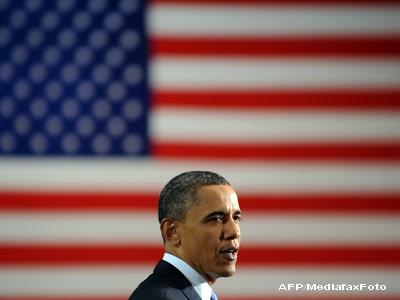 Barack Obama a sarbatorit Ziua Independentei alaturi de militarii americani