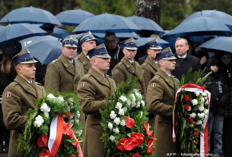 Un an de la tragedia de la Smolensk, in care a murit presedintele Poloniei