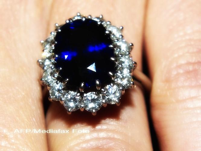 Kate Middleton a modificat inelul cu safire al Printesei Diana