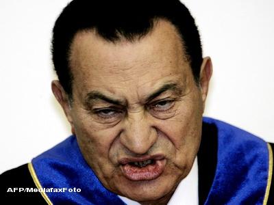 Hosni Mubarak ar putea fi condamnat la pedeapsa maxima: spanzurarea