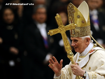 Liturghia de Paste de la Vatican, oficiata de papa Benedict al XVI-lea
