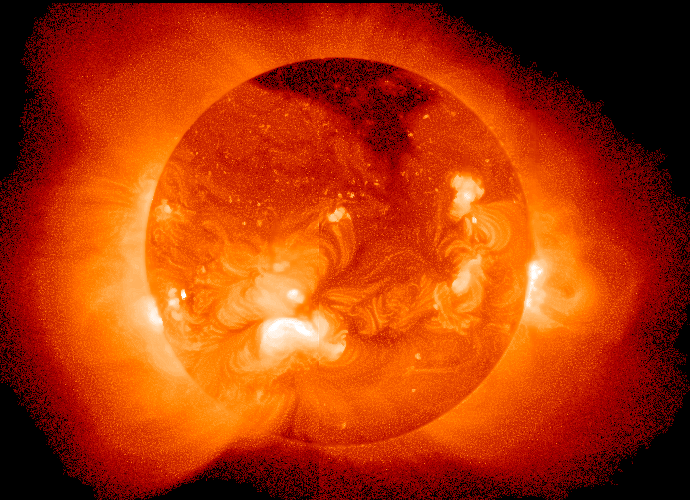 FOTO, VIDEO. O eruptie solara uriasa ne ameninta planeta. Care sunt riscurile