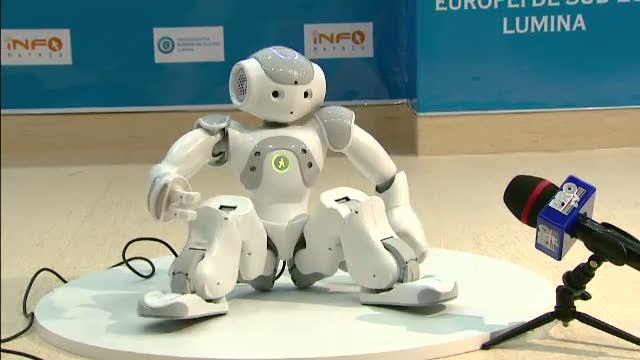 Proiectele romanilor, fata in fata cu cel mai avansat robot umanoid din lume