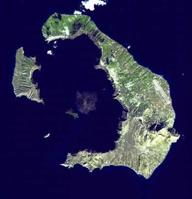 Vulcanul care a dat nastere legendei Atlantidei s-a