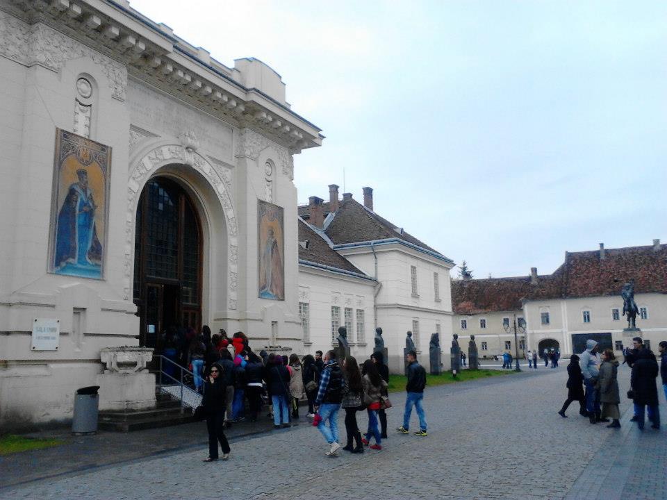"Program special la Muzeul National al Unirii din Alba Iulia in saptamana ""Scoala Altfel"""