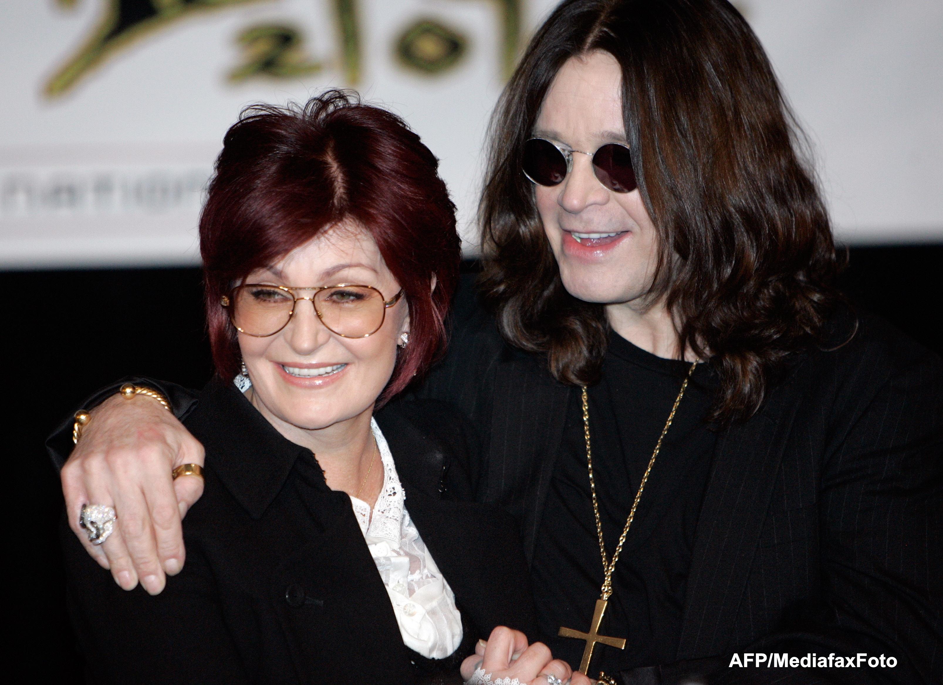 Ozzy Osbourne si sotia sa, Sharon, ar putea divorta, dupa 30 de ani de casatorie