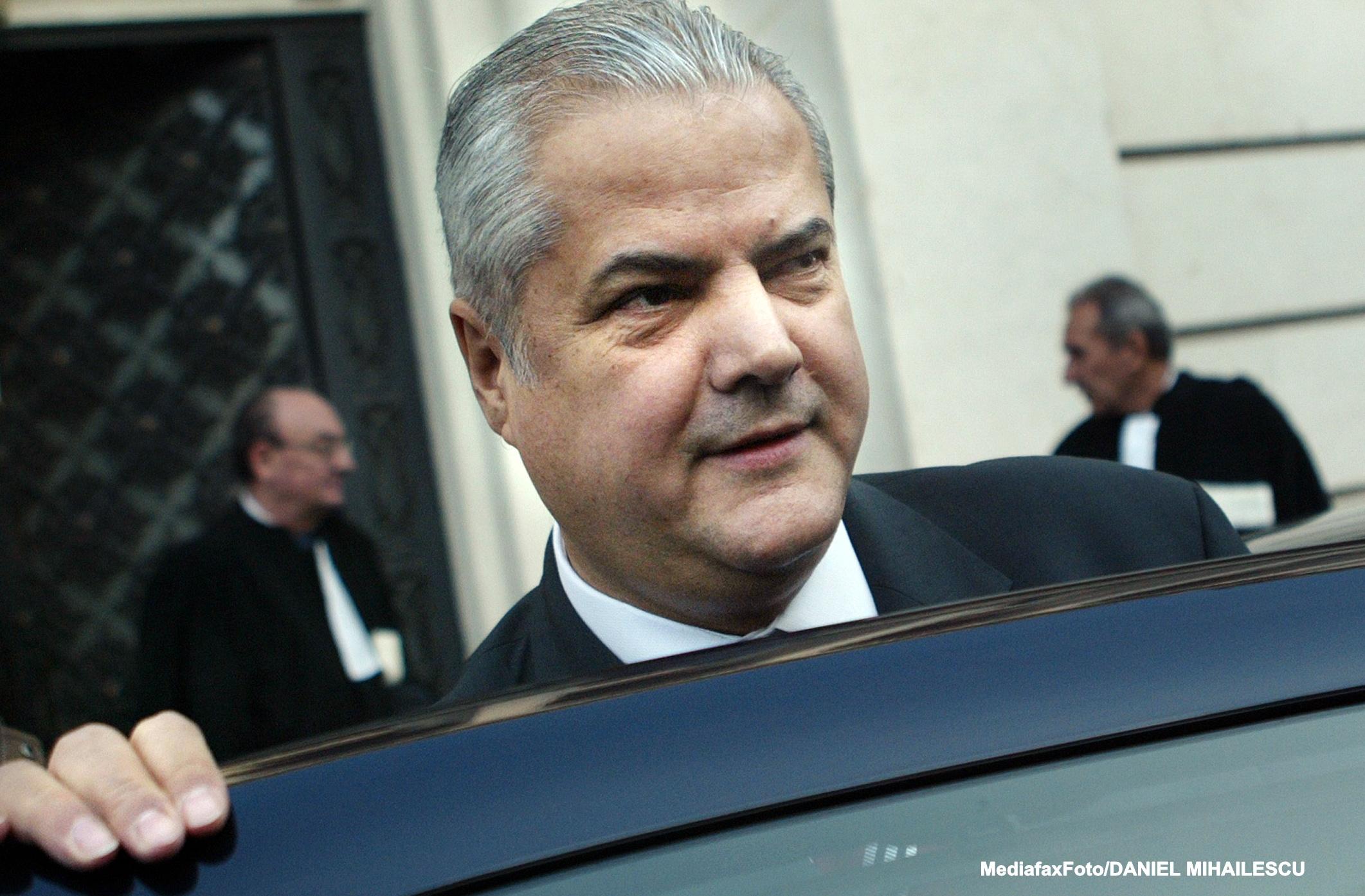 CEDO a respins plangerea lui Adrian Nastase. Reclamatiile fostului premier, catalogate drept inadmisibile si nefondate