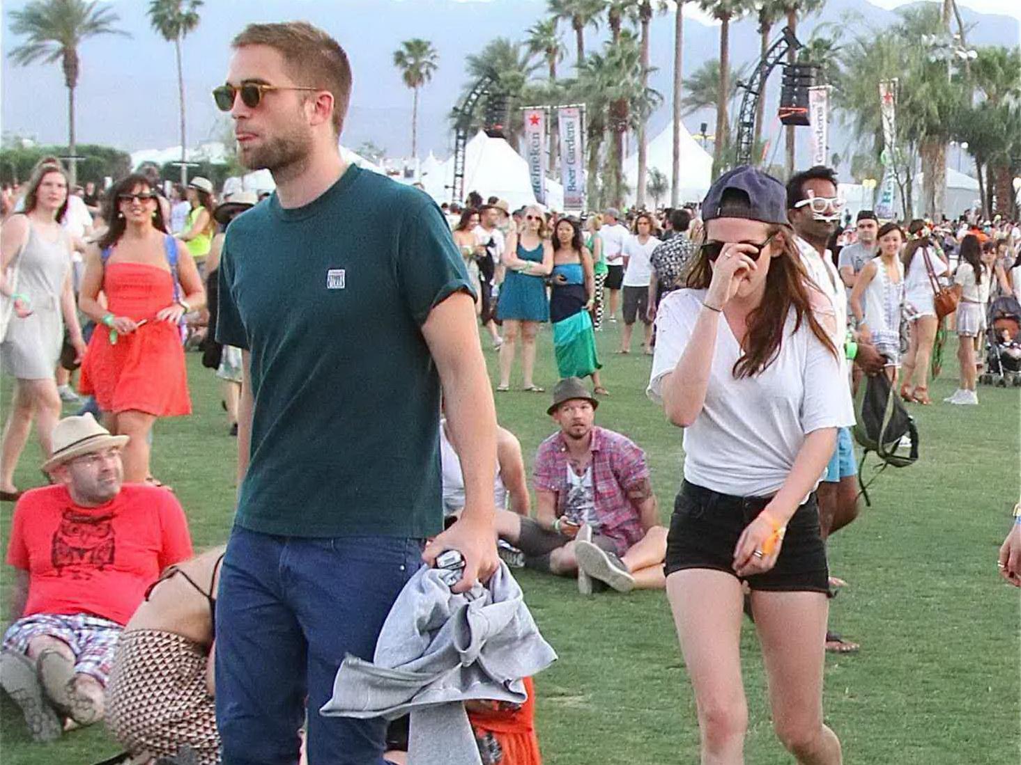 Imagini unice: ce au facut Kristen Stewart si Robert Pattinson pentru prima data in public