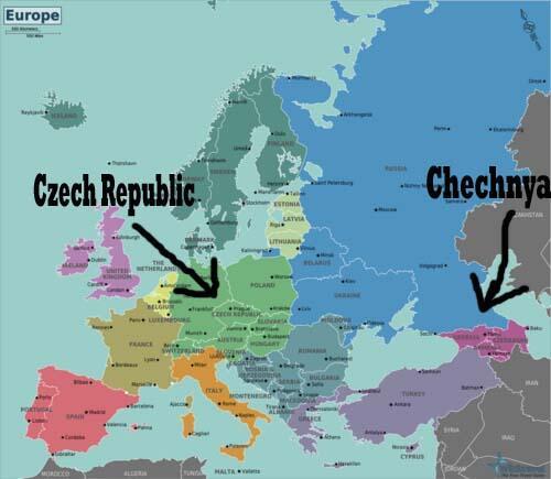 Atentatul de la Boston si lectia de geografie de pe Twitter. Cecenia, confundata cu Republica Ceha