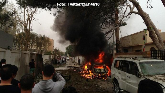 Libia: Noi lupte la Tripoli si Benghazi; resedinta vicepremierului a fost atacata