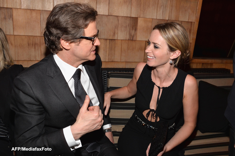 Colin Firth revine pe marile ecrane intr-o comedie romantica, alaturi de Emily Blunt: